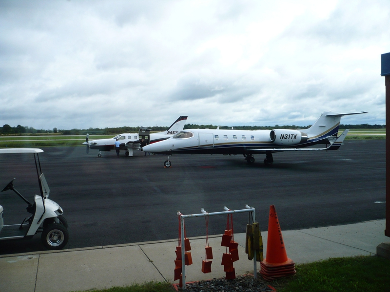 Planes at the St. Cloud Regional Airport