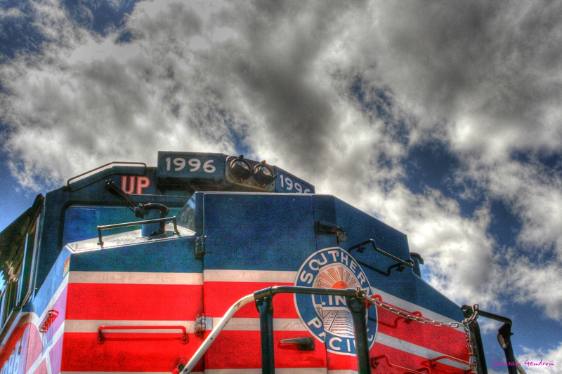 Jeanean Gendron - Railroad Days - Photo Art Dunmuir CA
