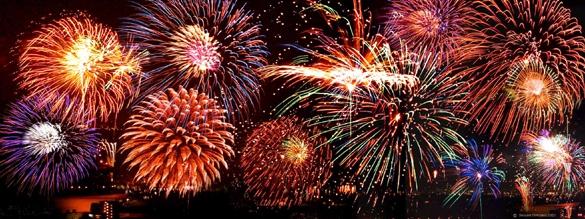 July 4th Fireworks Display- North Kingstown RI