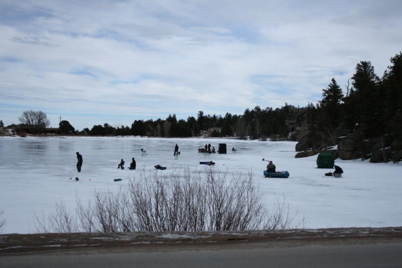 January days in red feather lakes colorado for Fishing lakes in colorado