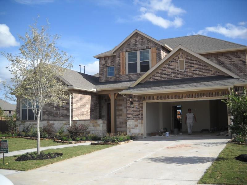 New David Weekley Home Cinco Ranch West Katy Texas