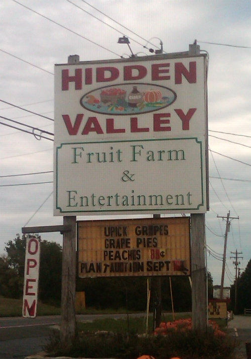 Hidden Valley Fruit Farm in Lebanon Ohio