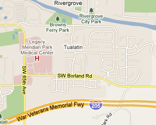 Tualatin Fox Hill Neighborhood Map