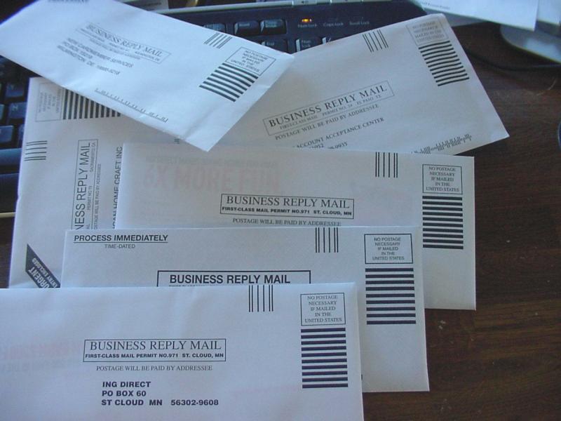 Postage Paid Envelope