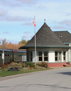 Uxbridge Station, Uxbridge, Ontario