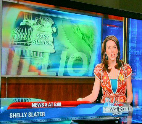 New Star in Fort Worth    Shelly Slater's on Channel 8 Weekend News