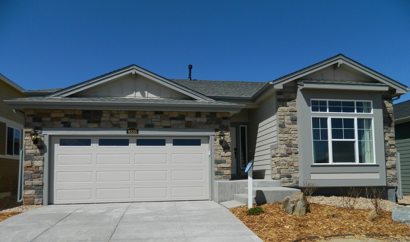 New ranch style home in the regency by lennar homes in for Ranch style homes in colorado