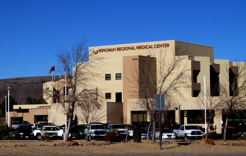Kingman Man Charged With Assaulting Hospital Security And