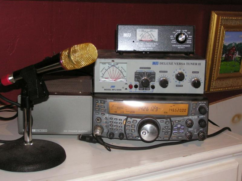 Ham radio has always been an effective method for storm tracking.