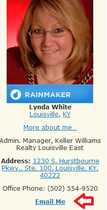 Email Lynda White on Active Rain