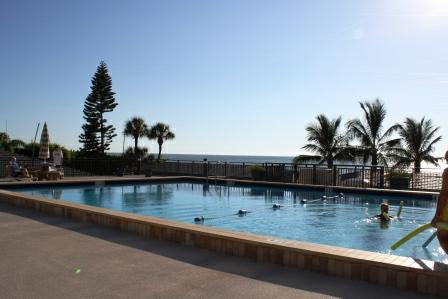 Pool at Mansions by the sea