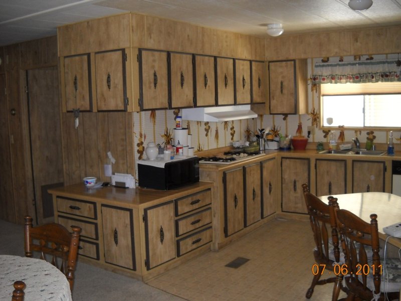 Mobile Home Kitchen Cabinets Remodel Monsterlune