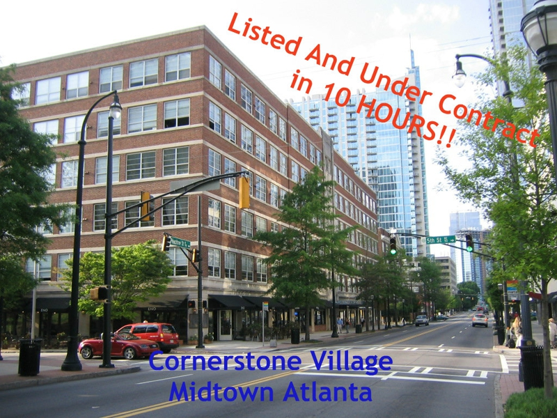 Cornerstone Village Under Contract In 10 Hours