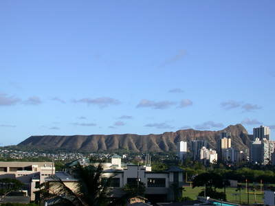 Diamond Head, Honolulu, Oahu Hawaii