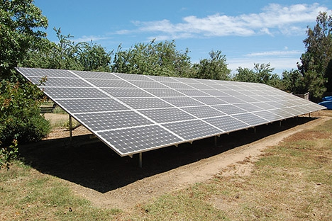 Superieur Solar Panels In Your Yard