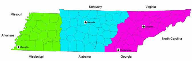 Is Chattanooga Tennessee In Central Time Zone