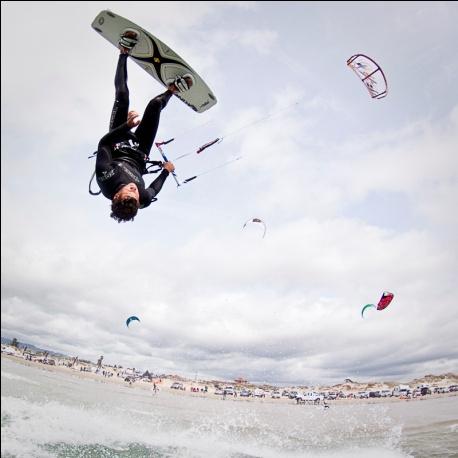 Kite Boarding in Pismo Beach