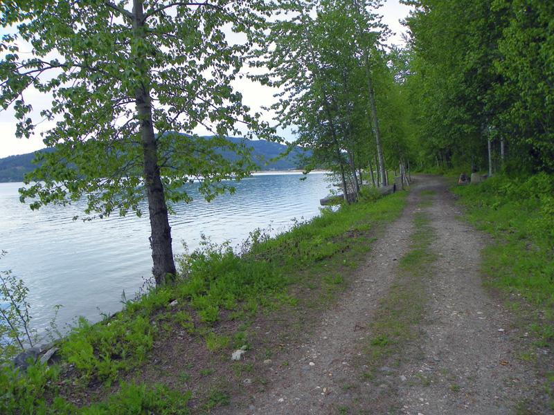 Image result for Pend d'Oreille Bay Trail