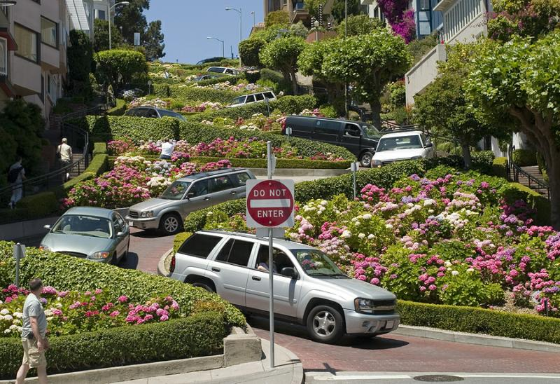 From Val Vista Lakes Gilbert AZ to Lombard Street