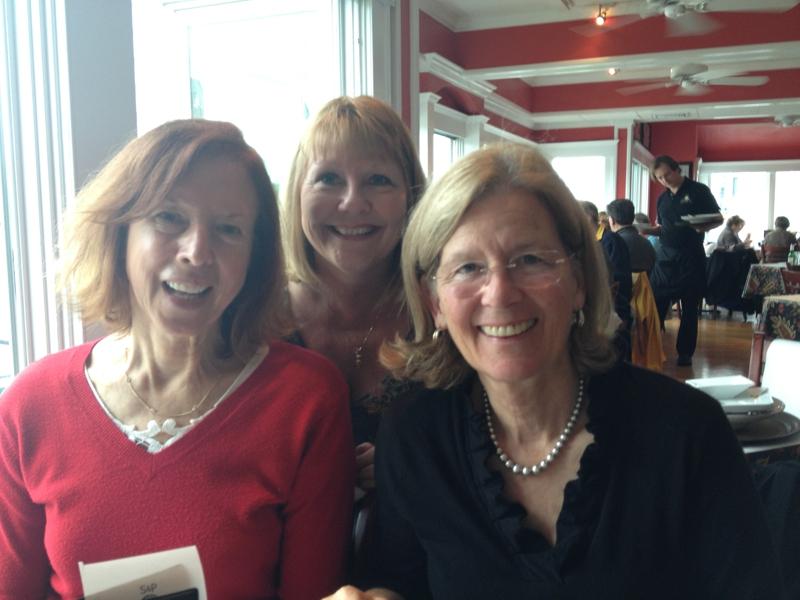 Ginny Gorman and Joan Cox and Dagny Eason