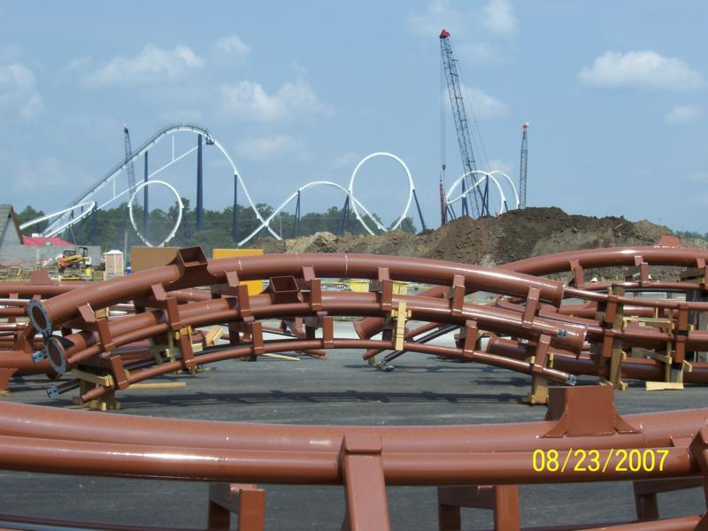 Hard Rock Theme Park S Led Zeppelin Roller Coaster Continued