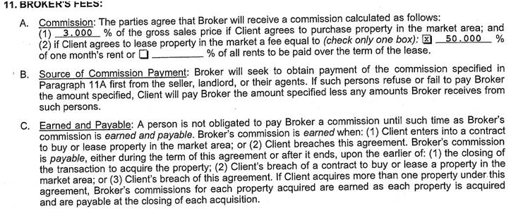 Buyer broker agreement virginia