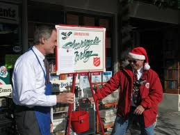 Help Real People-be an angel-fill the salvation army's virtual kettle today