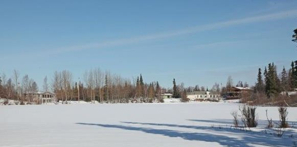 Hideaway Lake Waterfront Homes For Sale in Anchorage AK Hillside