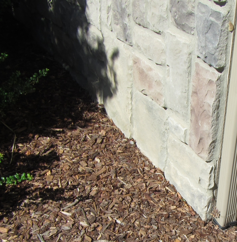 Veneer in contact with soil  Wenatchee Home Inspection