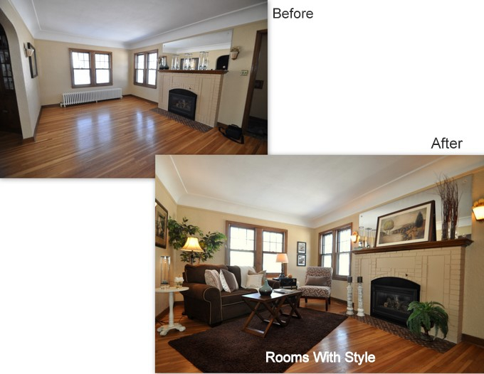 Check Out This Cute House A Fun Home Staging In Minneapolis Mn
