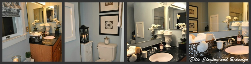 Home Staging Bremen budget bathroom staging before after photos