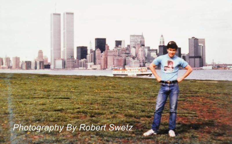 Robert (Vegas Bob) Swetz in NYC 1982