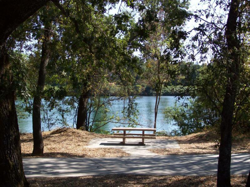 Lake Redding View of Sacramento River