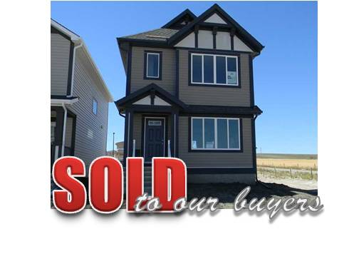 recently sold home in Airdrie