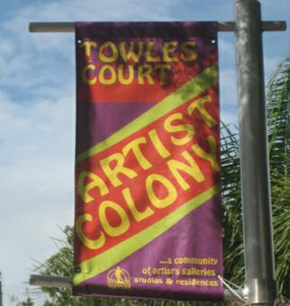 Towles Court Artist Colony Sarasota
