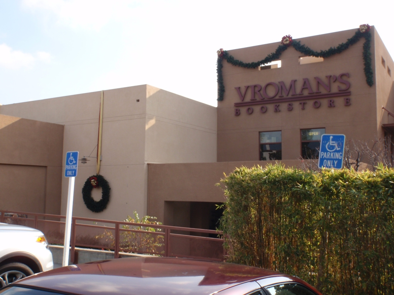 Vroman's book store in Pasadena