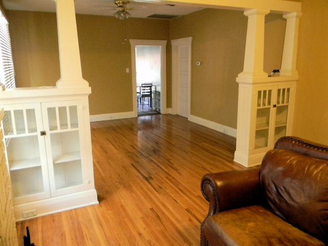 1926 bungalow for rent tampa heights - Built in room dividers ...