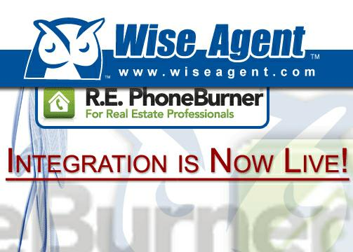 Wise Agent partners with R.E. PhoneBurner