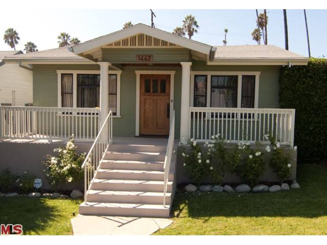 Silver Lake CA craftsman home for sale