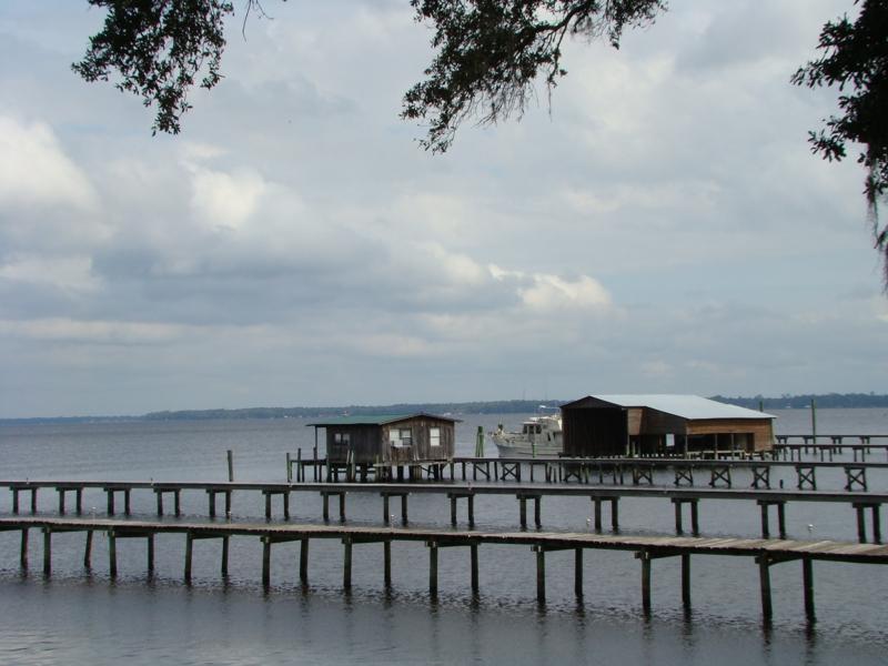 Docks at Black Creek and St Johns River, Clay County Florida