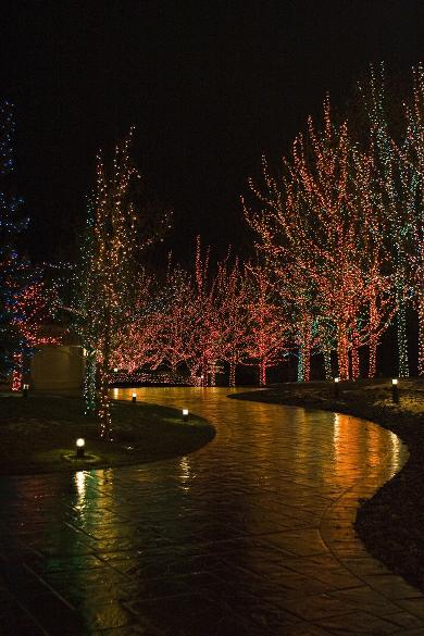 Still Looking For Your Holiday Spirit? Lighted Christmas Displays At BLORA