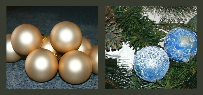 painting christmas ornaments