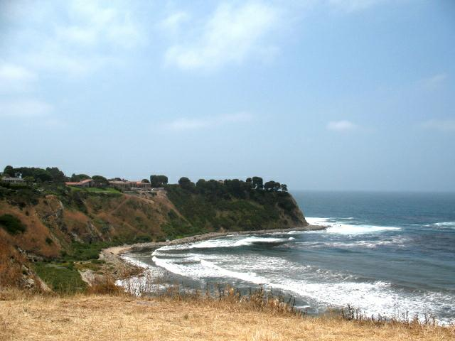 Lunada Bay Coast and Cliffs by Norma Toering