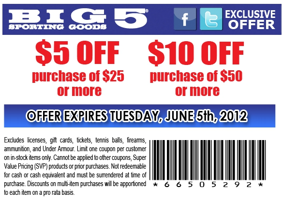 photo relating to Big 5 Printable Coupon identified as Large 5 carrying solutions destinations arizona - 3ds xl package concentrate