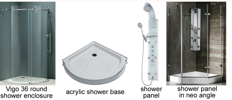 Fitting A Full Bath Into A Small Space Shower Selection
