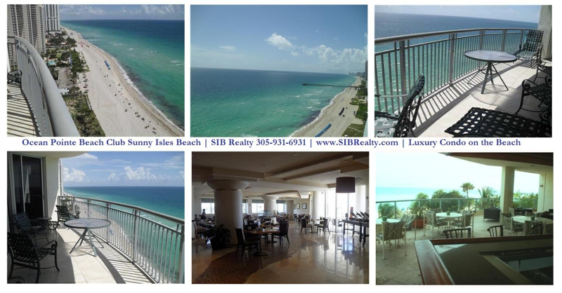 Ocean Point Beach Club Sunny Isles Beach | Direct Ocean from this two bedroom condo | SIB Realty 305-931-6931 | www.SIBRealty.com
