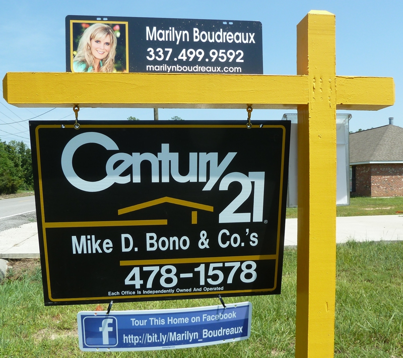 For Sale Sign Century 21 Mike D Bono
