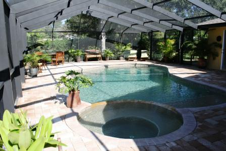 Pool at  6821 Date Palm