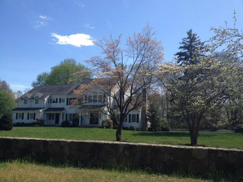 South Wilton CT Fairfield County New 5 Bedroom Colonial Home