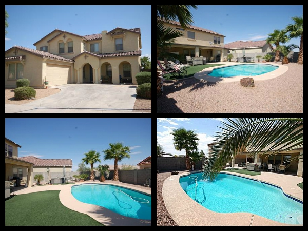 pool homes for sale in maricopa meadows maricopa meadows pool homes az
